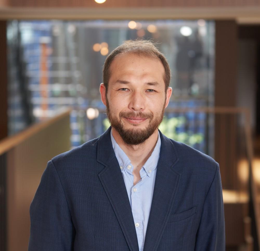 Olzhas ABDESHOVさん(カザフスタン)